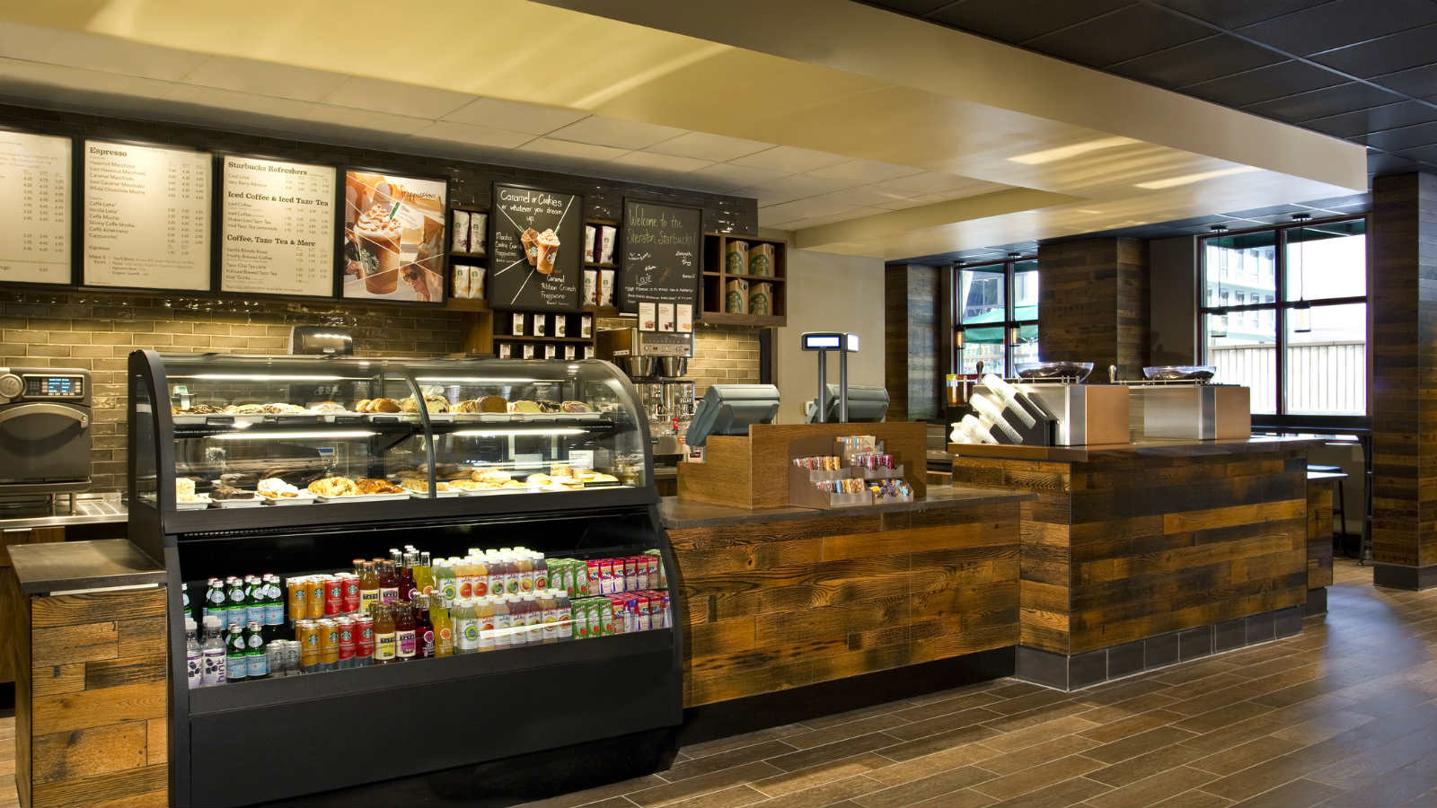 Silver Spring Event Venues - Lobby Starbucks