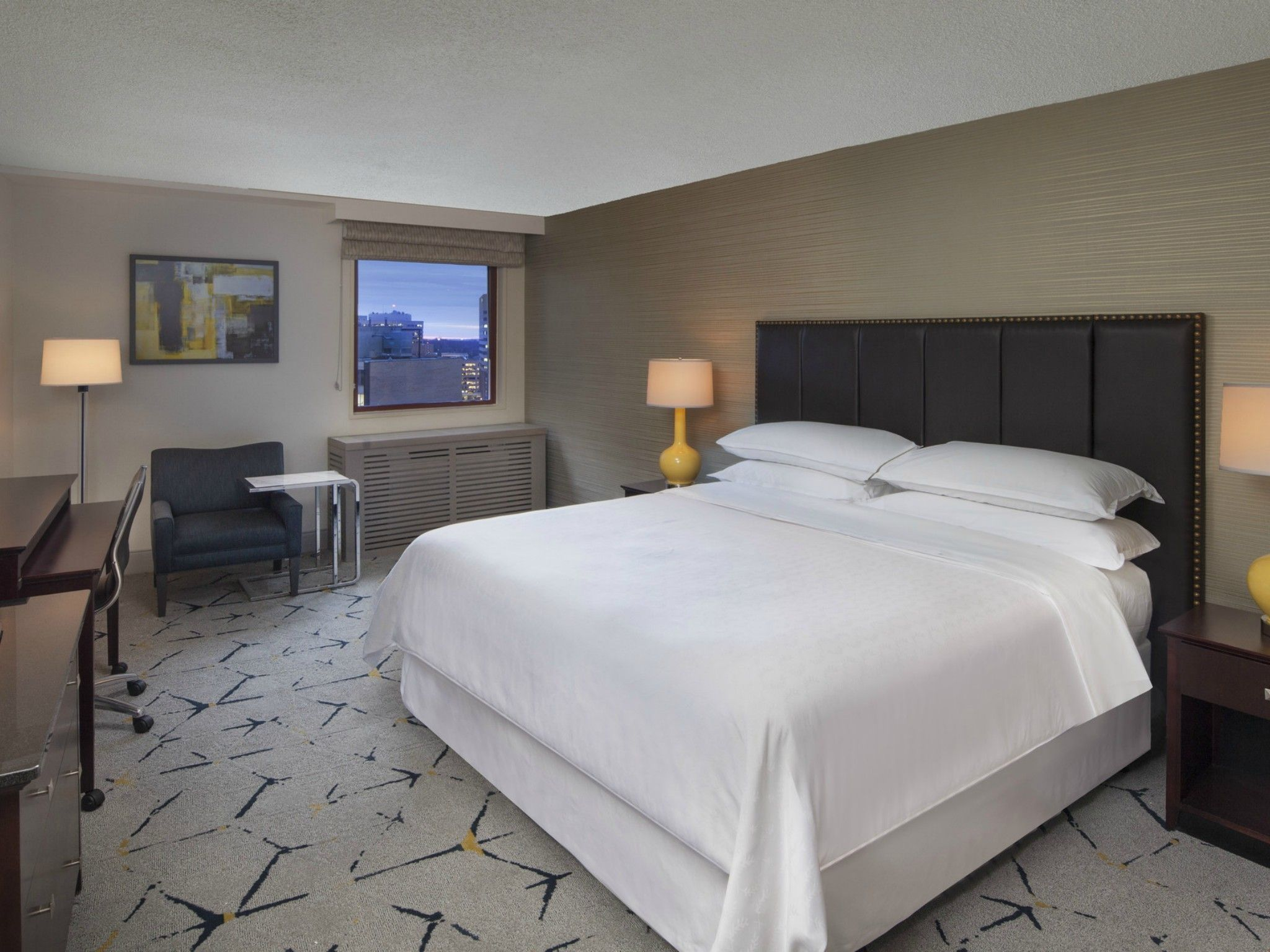 After Guest Room | Sheraton Silver Spring