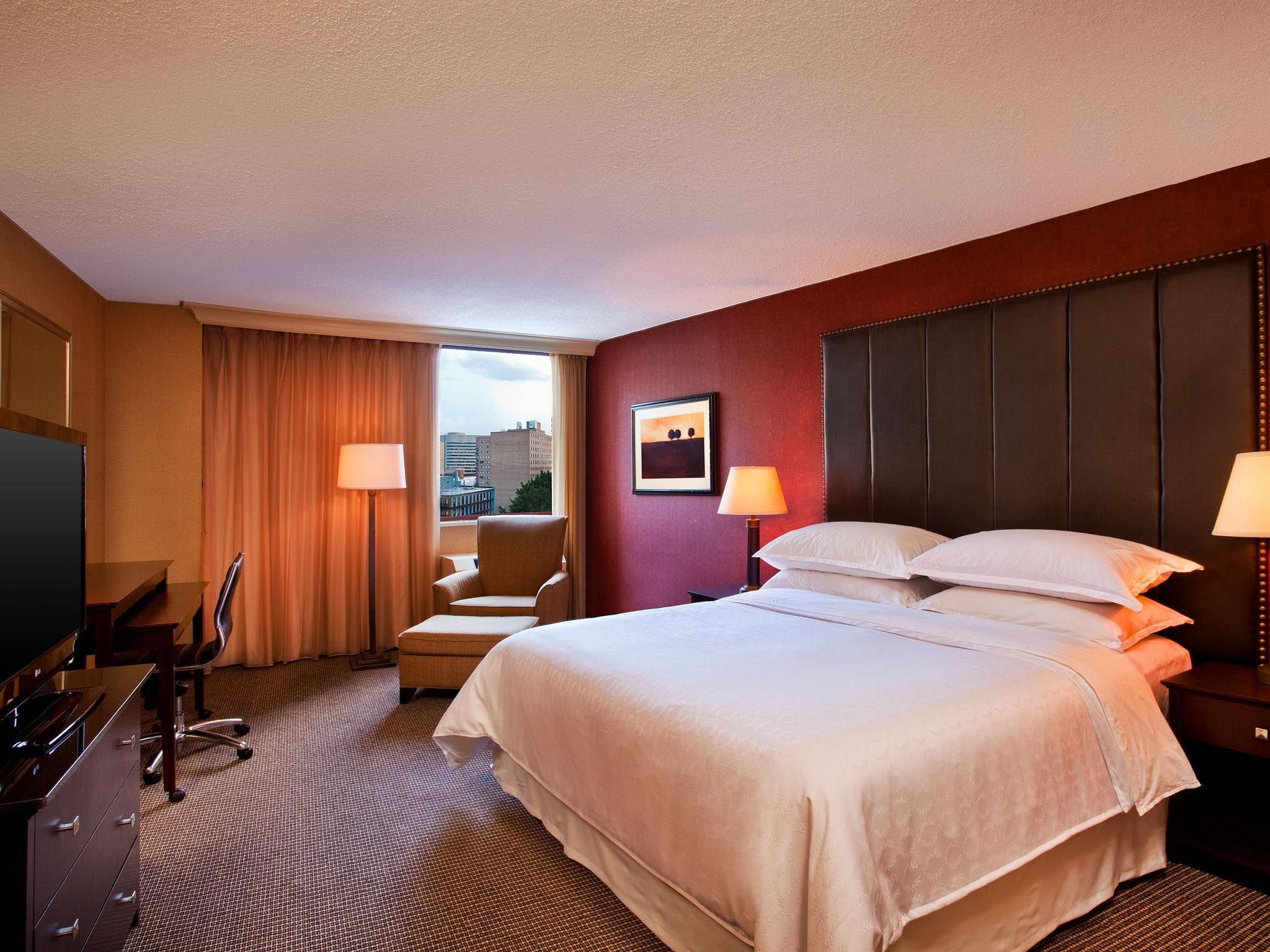 Before Guest Room | Sheraton Silver Spring